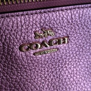 Coach Bags - Coach Metallic Leather Lyla Crossbody